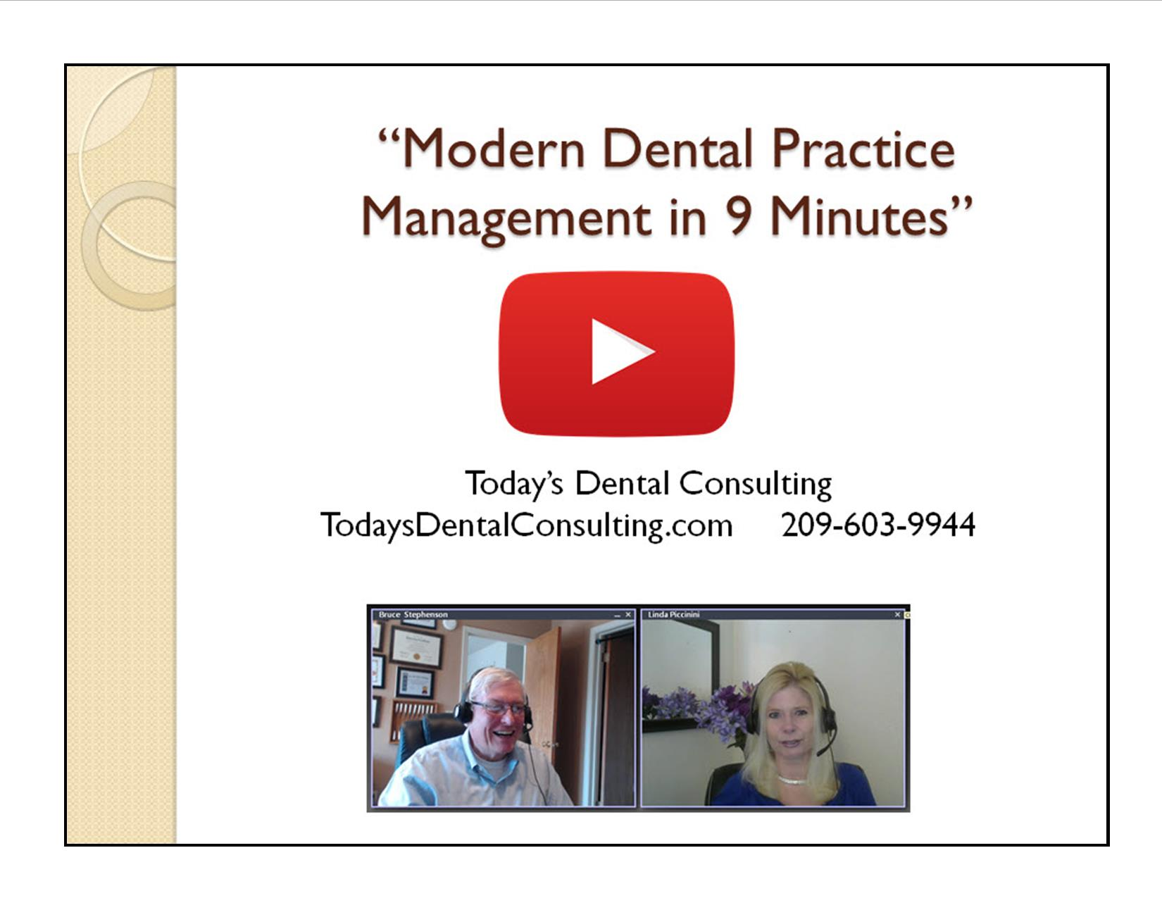 Modern Dental Practice Management in 9 Minutes